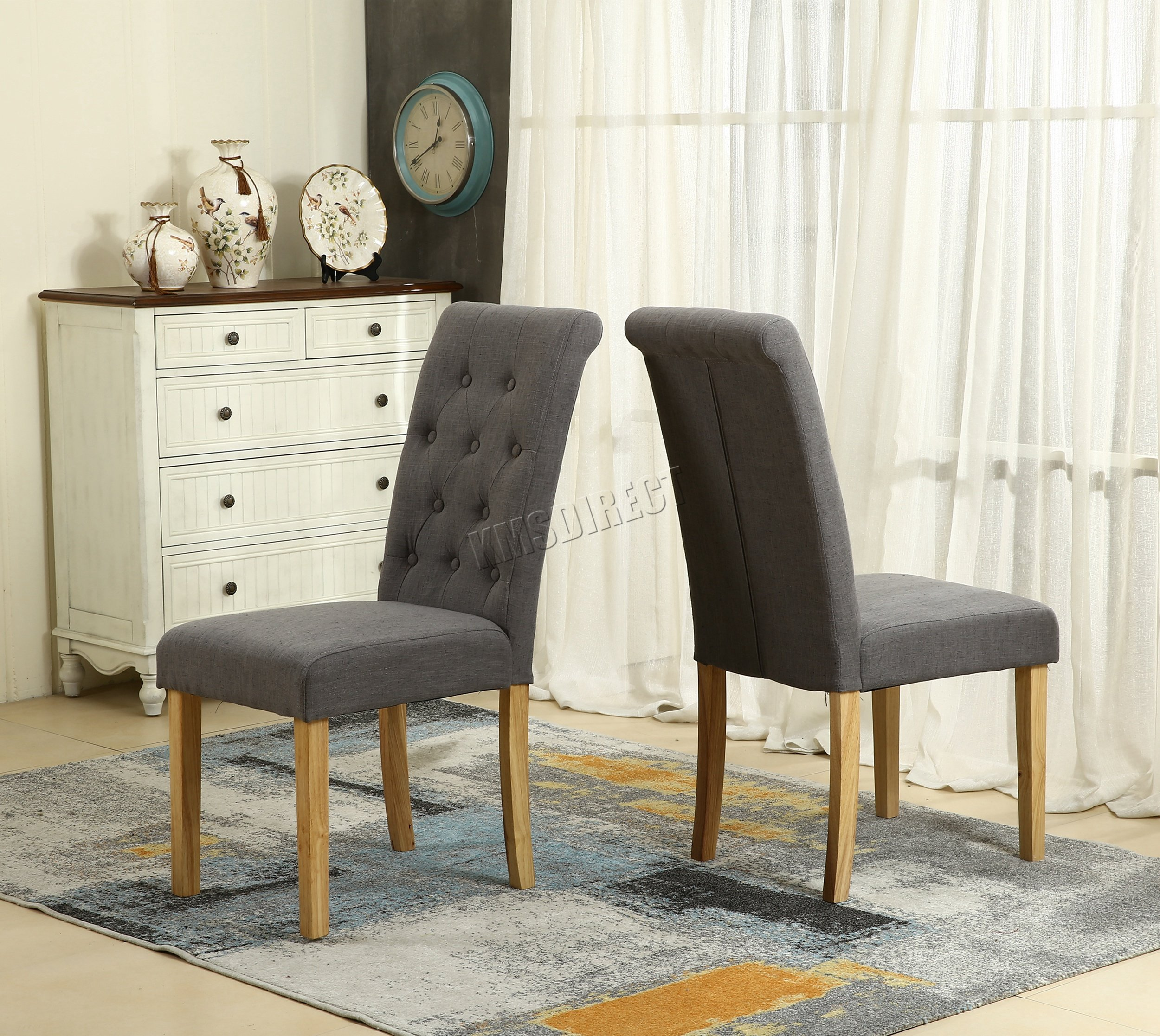 contemporary dining chairs amazon co uk