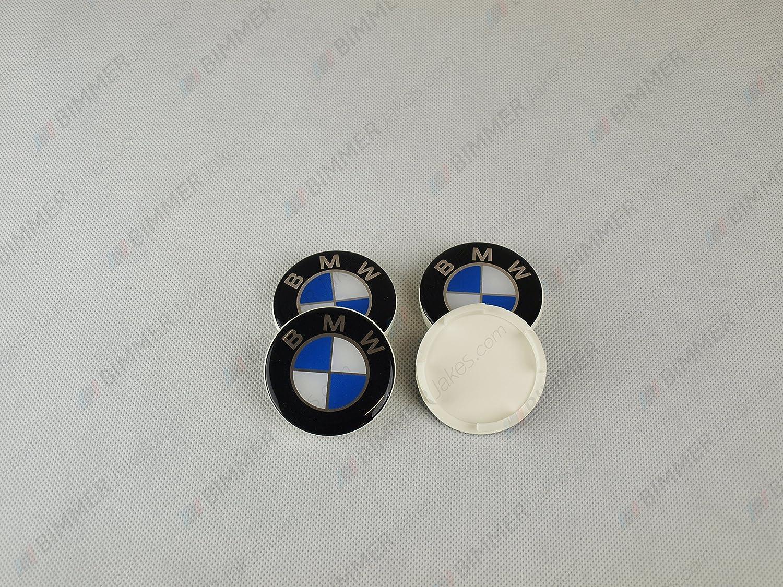 BMW Centre de roue Caps 56/53?mm pour roues Dezent