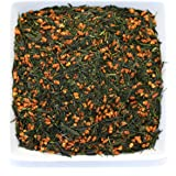 Tealyra - Gen Mai Cha Supreme - Japanese Loose Leaf Tea - Organically Grown - Genmaicha Green Tea with Brown Roasted Rice - Caffeine Level Low - 200g (7-ounce)