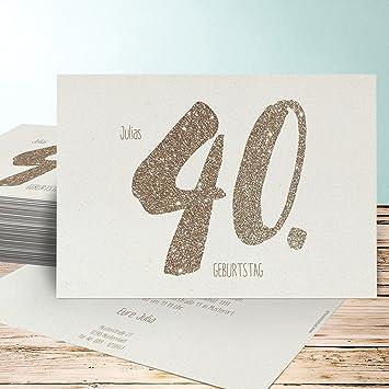 Vorlagen 40 Geburtstag 1 Einladung Zur Geburtstagsfeier