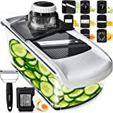 Mandoline Slicer Vegetable Slicer and Vegetable Grater - Potato Slicer Food Slicer Veggie Slicers Mandoline Slicer…