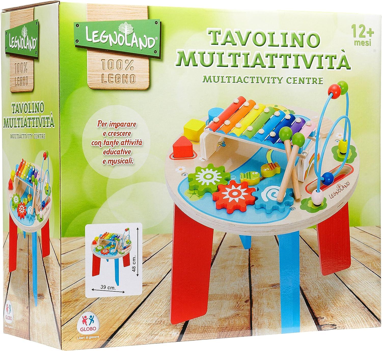 Legnoland 37111 Tavolino Multiattività in Legno