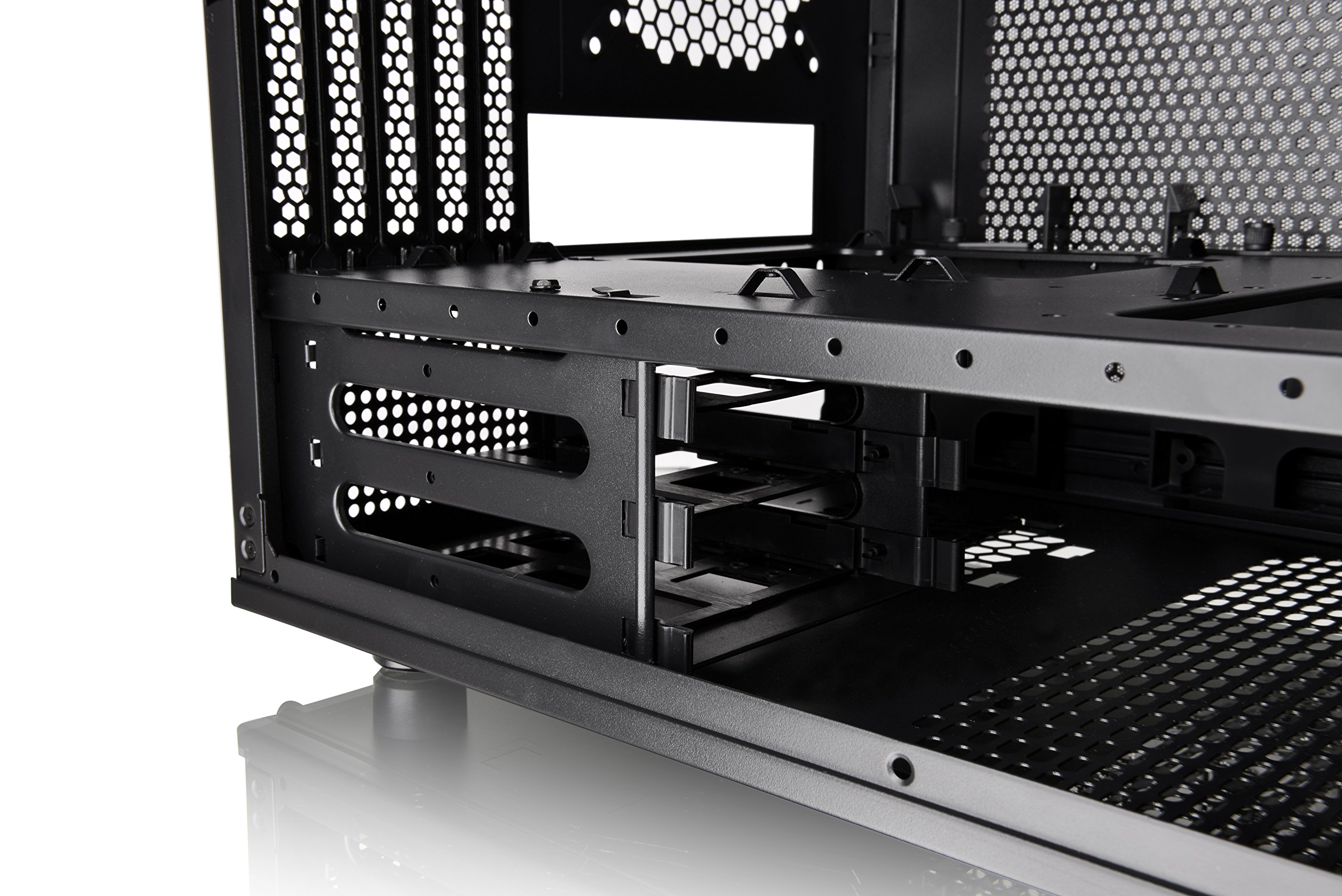 Thermaltake Core V21 SPCC Micro ATX, Mini ITX Cube Gaming Computer Case Chassis, Small Form Factor Builds, 200mm Front Fan Pre-installed, CA-1D5-00S1WN-00 by Thermaltake (Image #26)