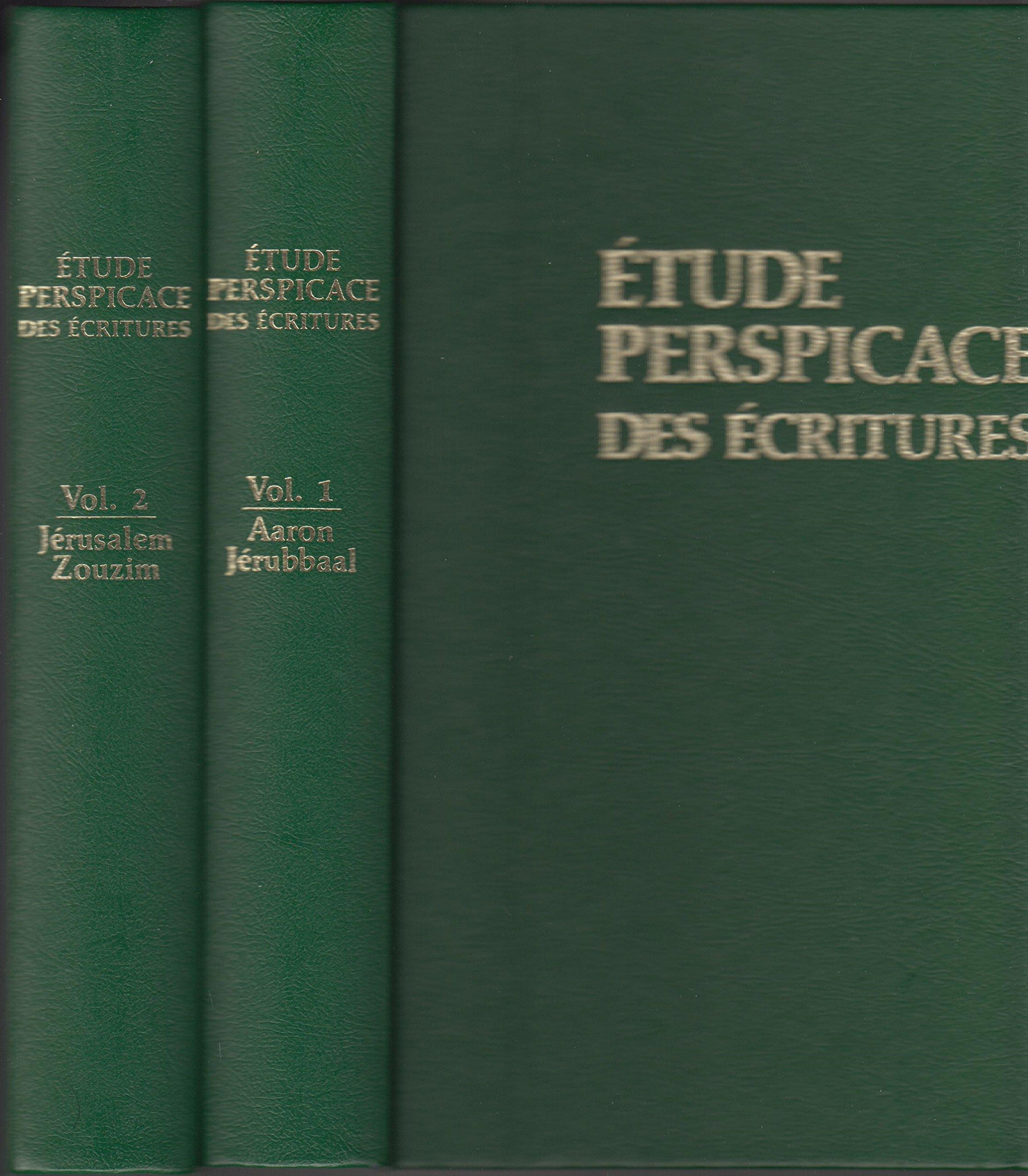 etude perspicace des ecritures