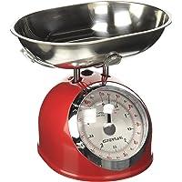 G3Ferrari G2000302 mechanische keukenweegschaal, 5 kg, rood