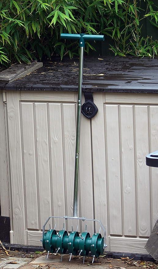 Greenkey 700 Rodillo aireador de césped (30 cm): Amazon.es: Jardín