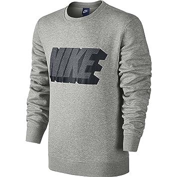 Crew Gx Xl Gris Shirt Nike Homme Flc Sweat Club qT7wWPpB