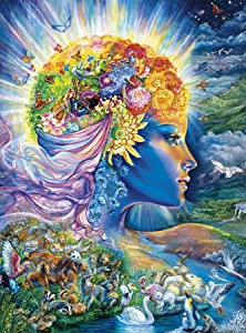 Buffalo Games - Josephine Wall - The Presence Of Gaia - Glitter Edition - 1000 Piece Jigsaw Puzzle