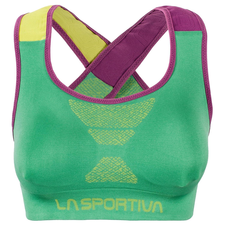 La SportivaフォーカスTop – Women 's Jade 緑/紫の Large