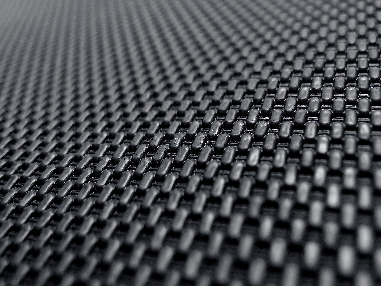 3D MAXpider Complete Set Custom Fit All-Weather Floor Mat for Select Subaru Forester Models Kagu Rubber Black