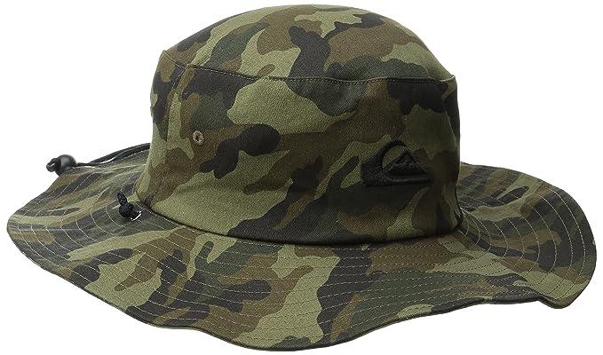 0c94201a Quiksilver Men's Bushmaster Floppy Sun Beach Hat, Camo3, Large/X-Large