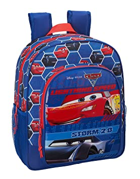 Safta Mochila Escolar Junior Cars 3 Oficial 320x120x380mm: Amazon.es: Equipaje