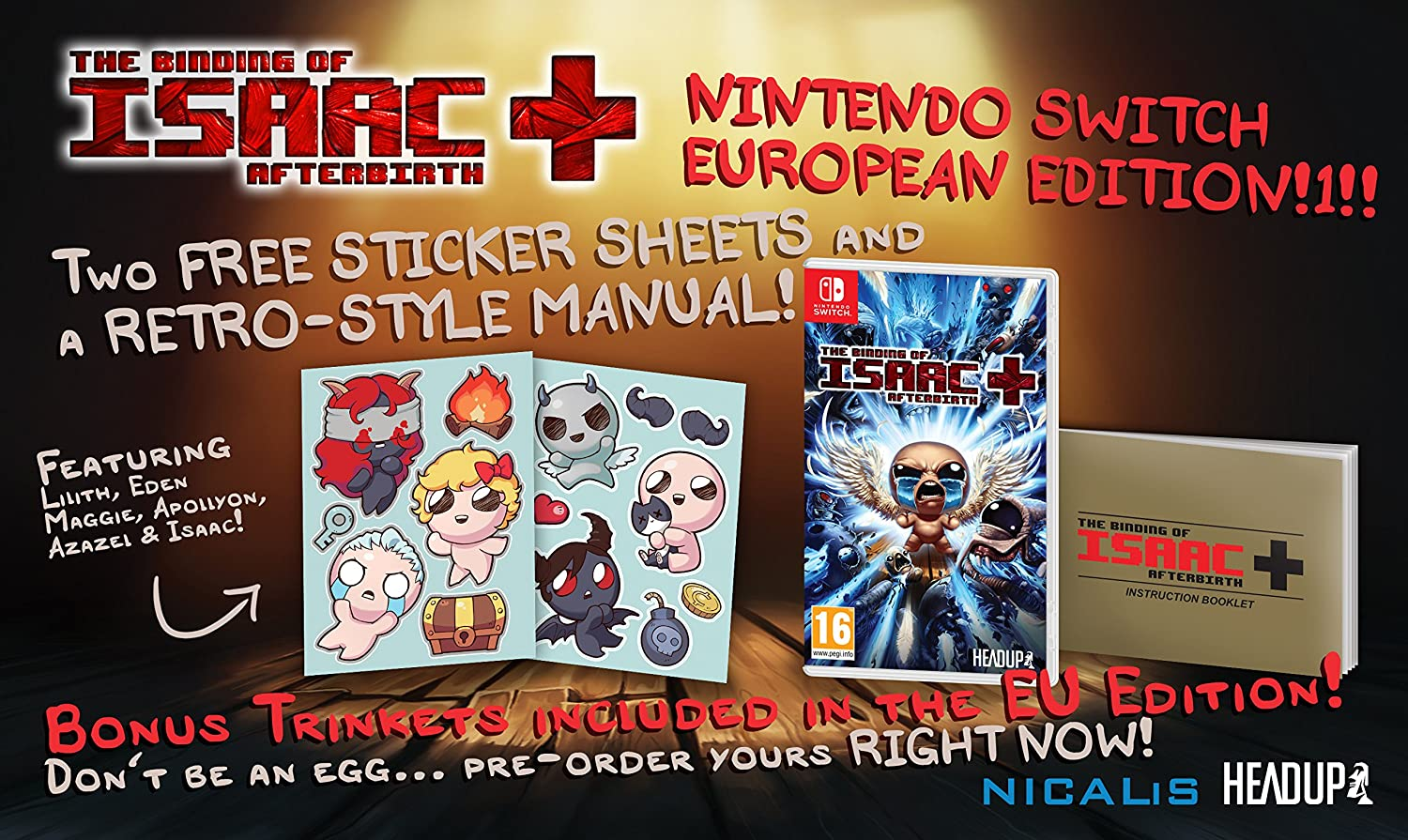Amazon com: The Binding Of Isaac: Afterbirth+ (eu): Video Games