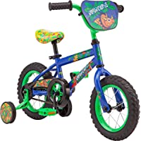 Pacific Character Kids Bike, 12-16-Inch Wheels, Ages 3-5 Years, Coaster Brakes, Adjustable Seat, Multiple Characters