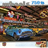 MasterPieces Wheels Collection Custom Classics Jigsaw Puzzle, 750-Piece