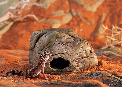 XXL Extra Large Natural Slate Corner Cave Hide Aquarium Vivarium Stone Rock Pleco Axolotl Fish Reptile Gecko Lizard Bearded Dragon Snake Spider Tarantula