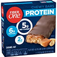 Deals on Fiber One Protein Bar, Caramel Nut Chewy Bars 5ct