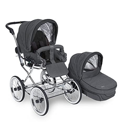 Teutonia Élégance 2016 Rad 48- Cochecito de bebé con soporte para bolsa mármol Talla: