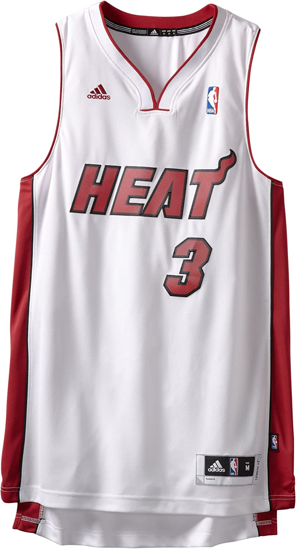 Amazon Com Nba Miami Heat Dwayne Wade Swingman Jersey White Xx Large Sports Fan Jerseys Clothing
