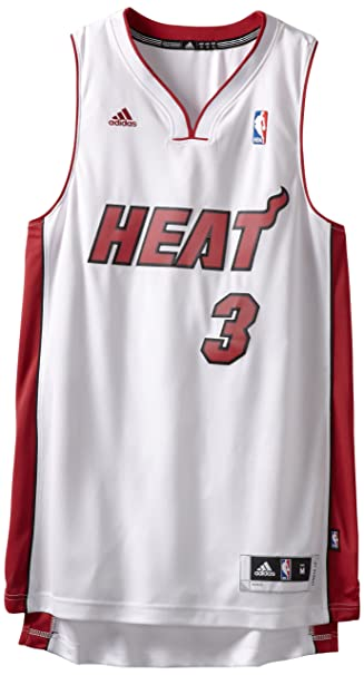huge selection of e19c5 451b3 Adidas Miami Heat Dwyane Wade New Swingman Home Jersey