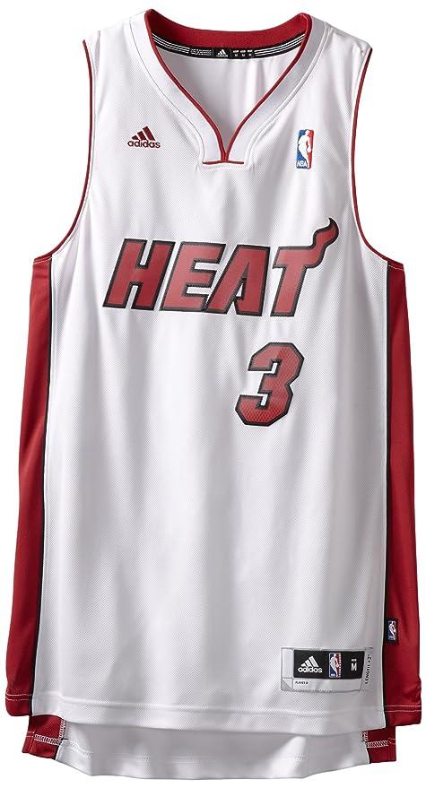 competitive price 8bb4b 859de czech miami heat adidas nba dwyane wade 3 swingman jersey ...