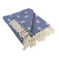 DII Throw Stars Nautical Blue,