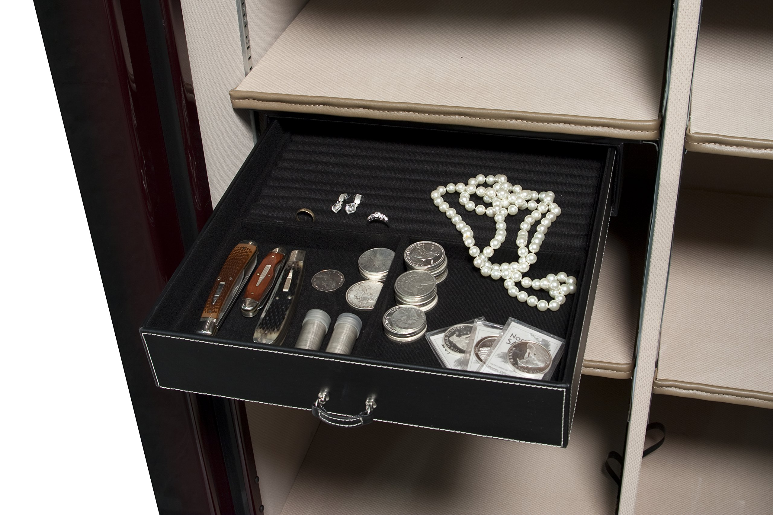Liberty Safe 15'' Jewelry Drawer, under shelf, 50 models