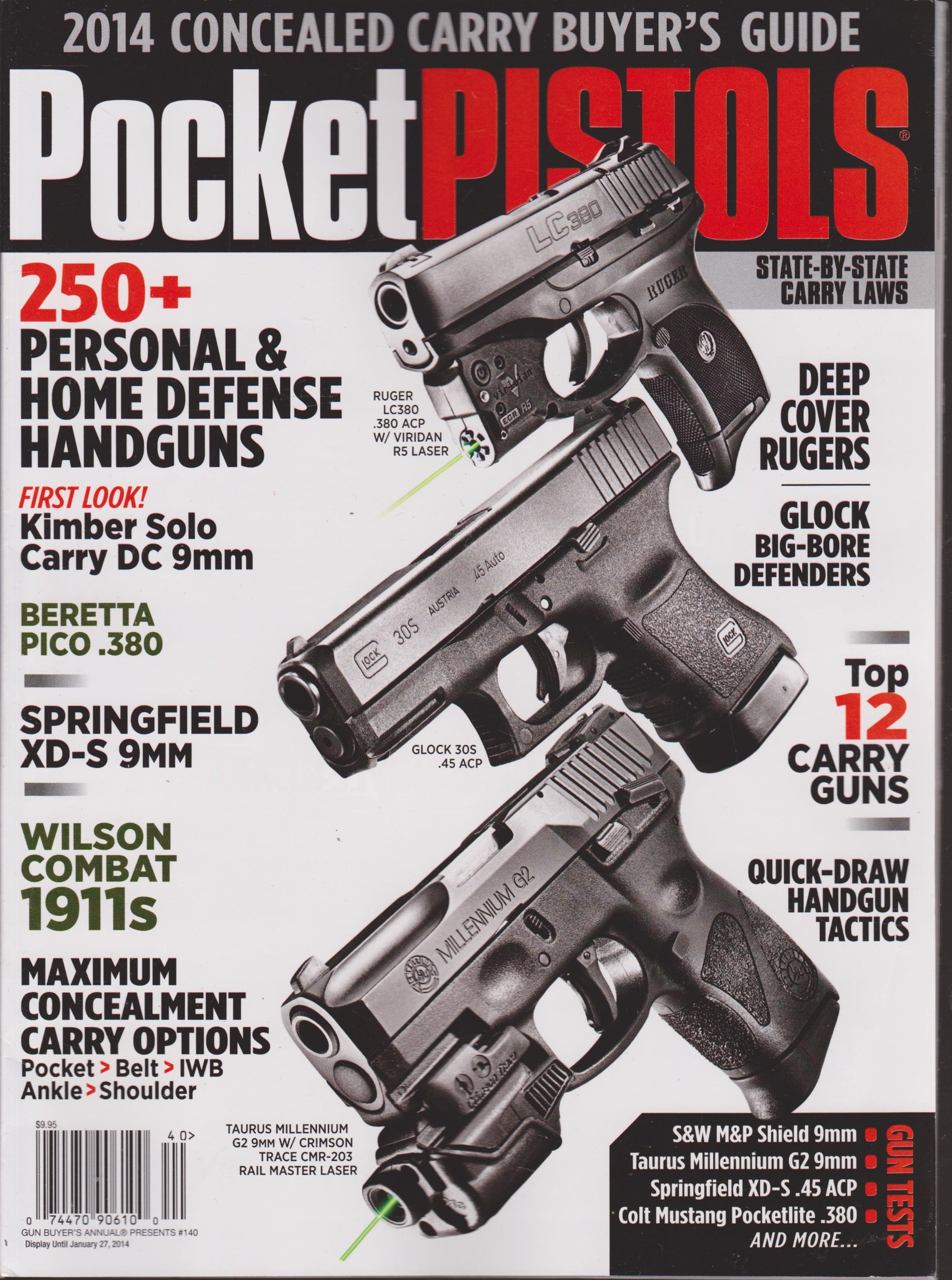pocket pistols 2014 concealed carry buyer s guide magazine gun rh amazon com Central Wisconsin Buyer's Guide Buyer's Guide Classified Ads