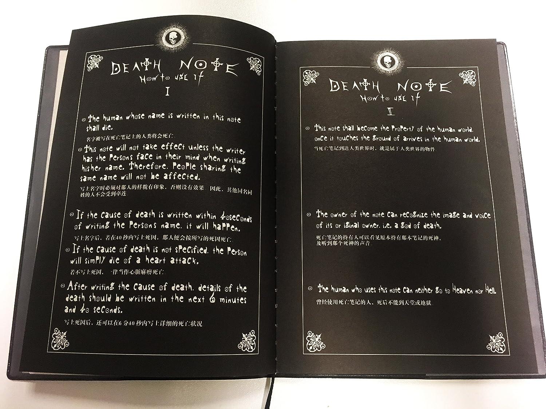 Death Note Notizbuch 990210