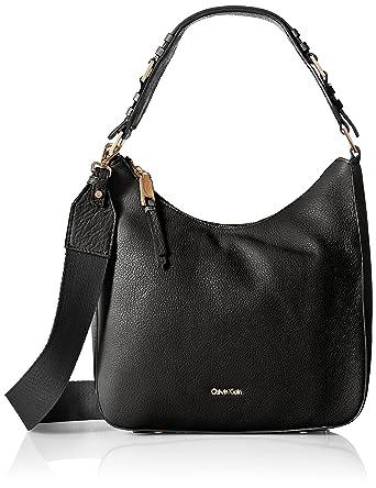 Amazon.com  Calvin Klein womens Calvin Klein Angelina Pebble Leather ... 7cc3ff8a5293c
