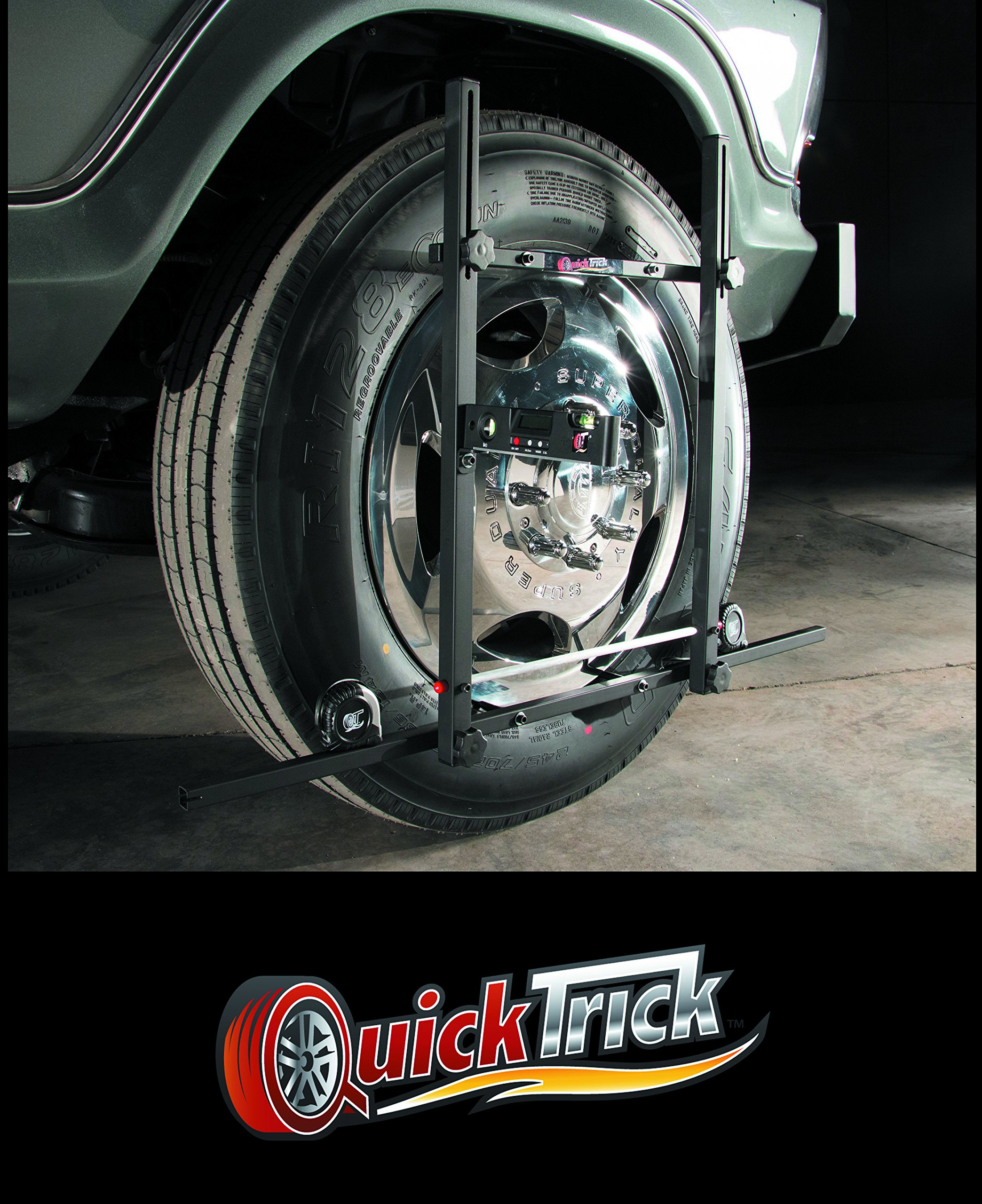Large Wheel Alignment Kit Complete for both sides - Truck, Semi, Bus, Firetruck by QuickTrick (Image #7)