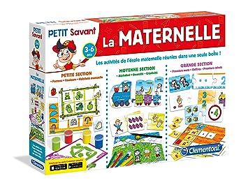588586ef1871b Clementoni - 62411-La Maternelle-Jeu éducatif: Amazon.fr: Jeux et Jouets