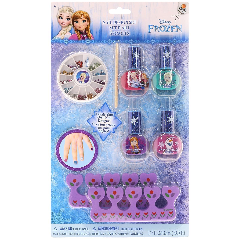 Townley Girl Disney Frozen Nail Design Set Amazon Toys Games