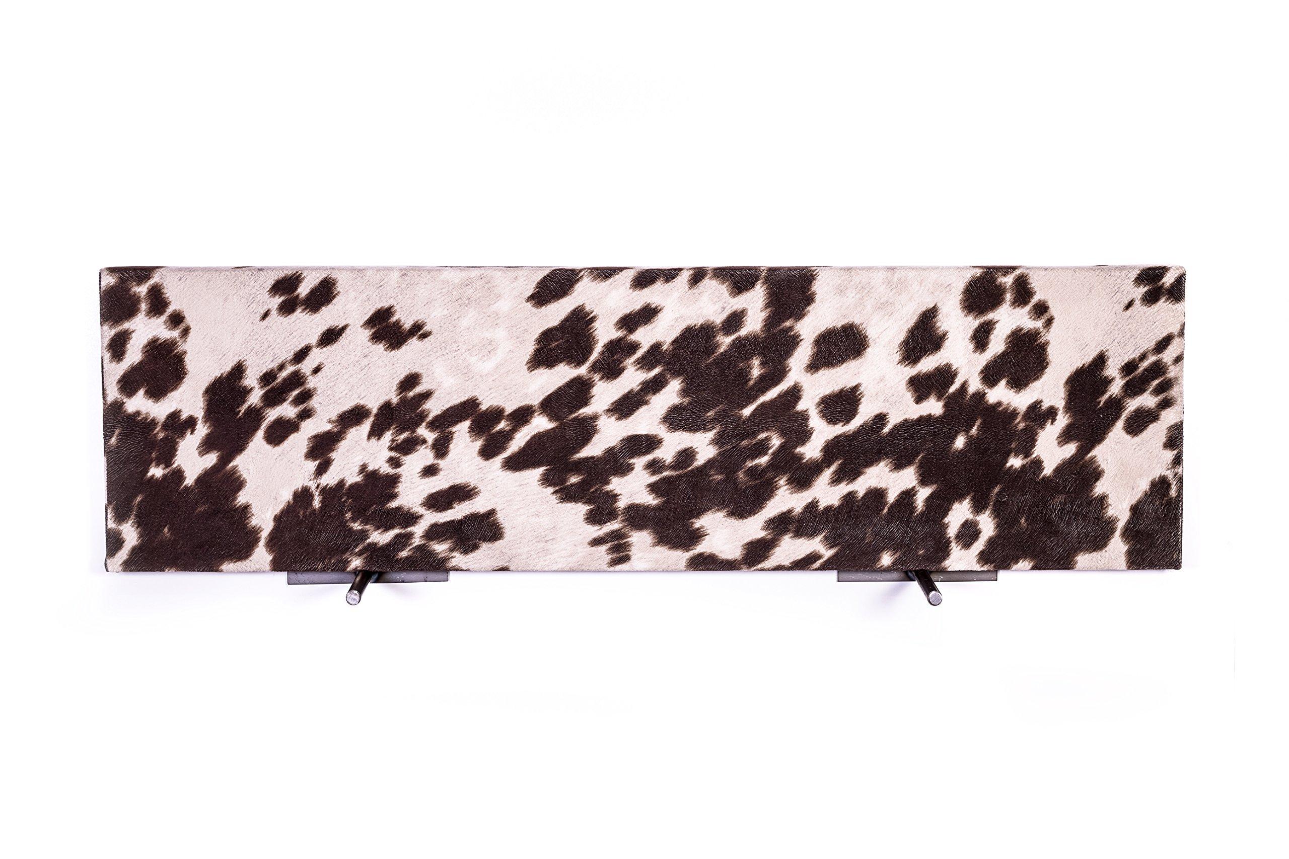 DAKODA LOVE 10'' Deep Cowhide Floating Shelves (Brown, 36'') by DAKODA LOVE (Image #4)