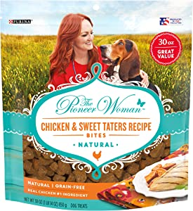 The Pioneer Woman Grain Free All Natural Chicken Bites Dog Treats
