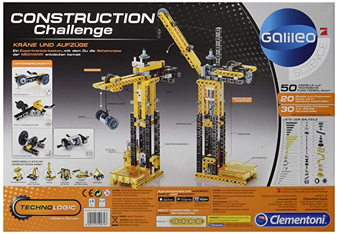 Construction Challenge 59052.0 Rettungsfahrzeuge Clementoni