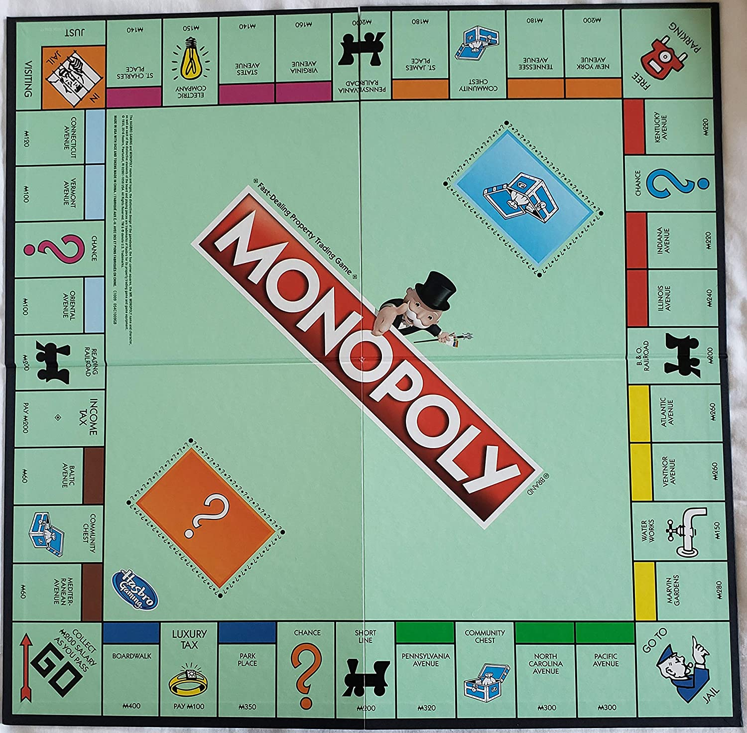 Monopoly Classic Replacement Board: Amazon.es: Juguetes y juegos