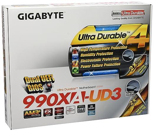 41 opinioni per Gigabyte Mod SoAM3+ GBT GA-990XA-UD3 (990X/ATX) Scheda Madre, Nero