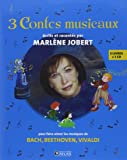 Coffret 3 contes musicaux n°1 : Bach, Beethoven, Vivaldi
