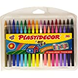 BiC Plastidecor - Ceras de colores, pack de 36