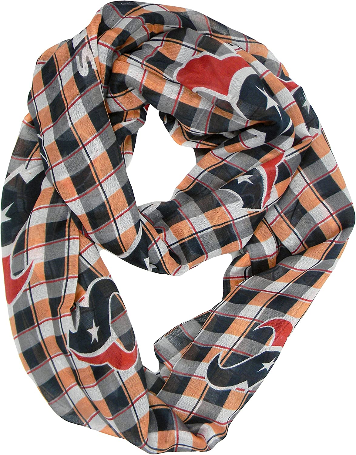 Littlearth NFL Plaid Infinity Scarf