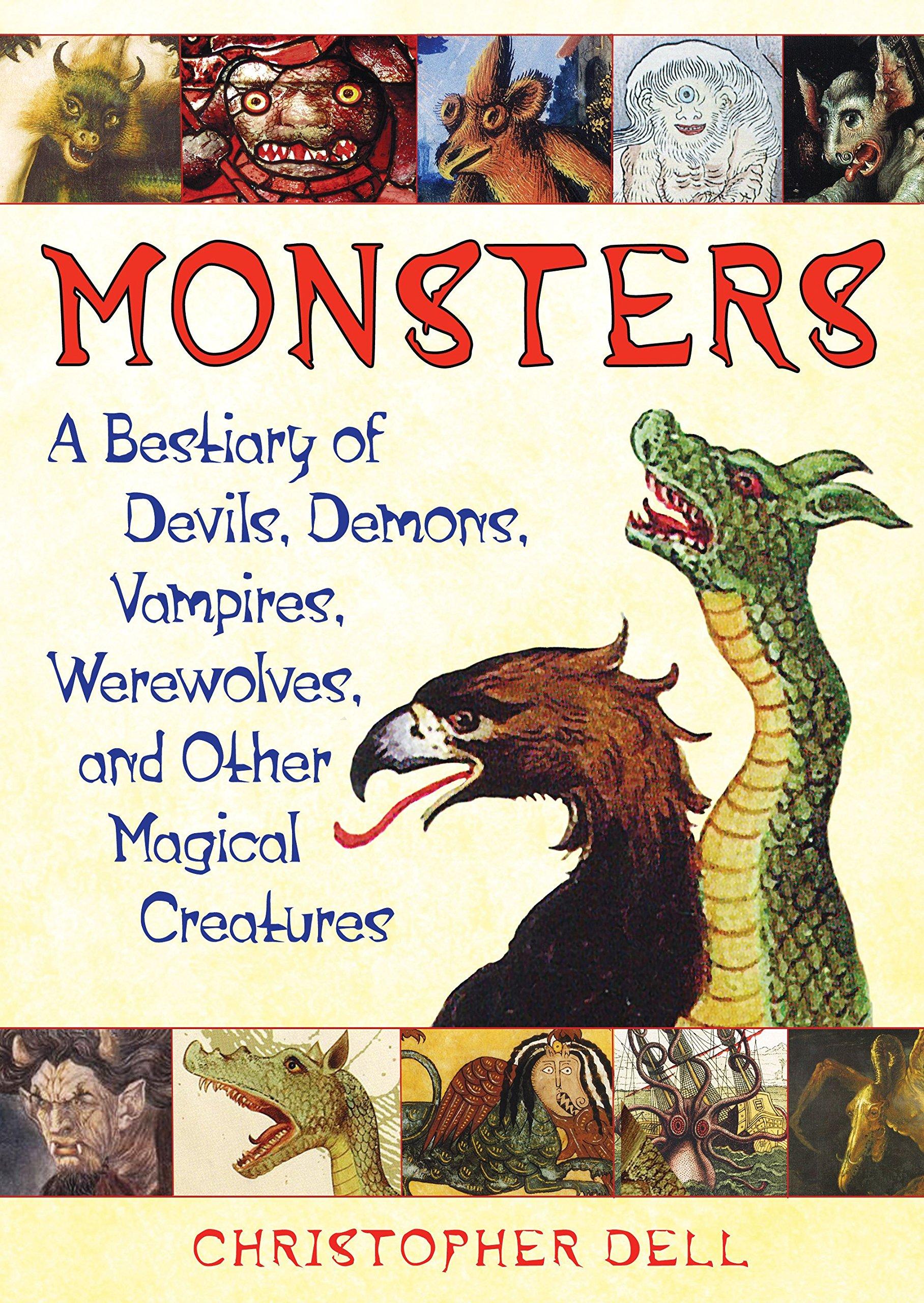 amazon com monsters a bestiary of devils demons vampires