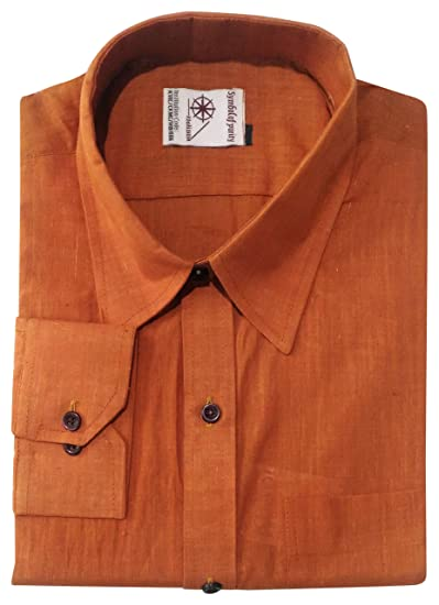 Khaadi Sangam Handwoven Khadi Men's Formal Shirt: Amazon in