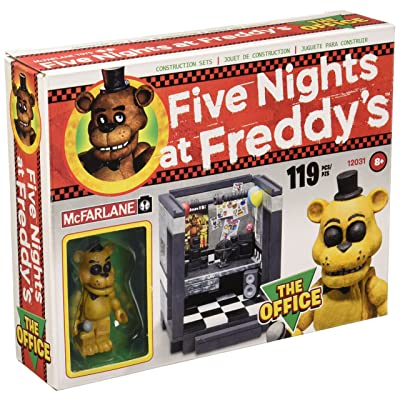 McFarlane Five Nights at Freddy's The Office Construction Set: Toys & Games