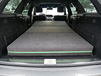Colchón plegable para coche de espuma fría de alta calidad, incluye bolsa, compatible con