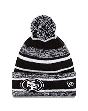 fe1000fc5df San Francisco 49ers New Era 2014 NFL On Field Sport Knit Hat - Black White