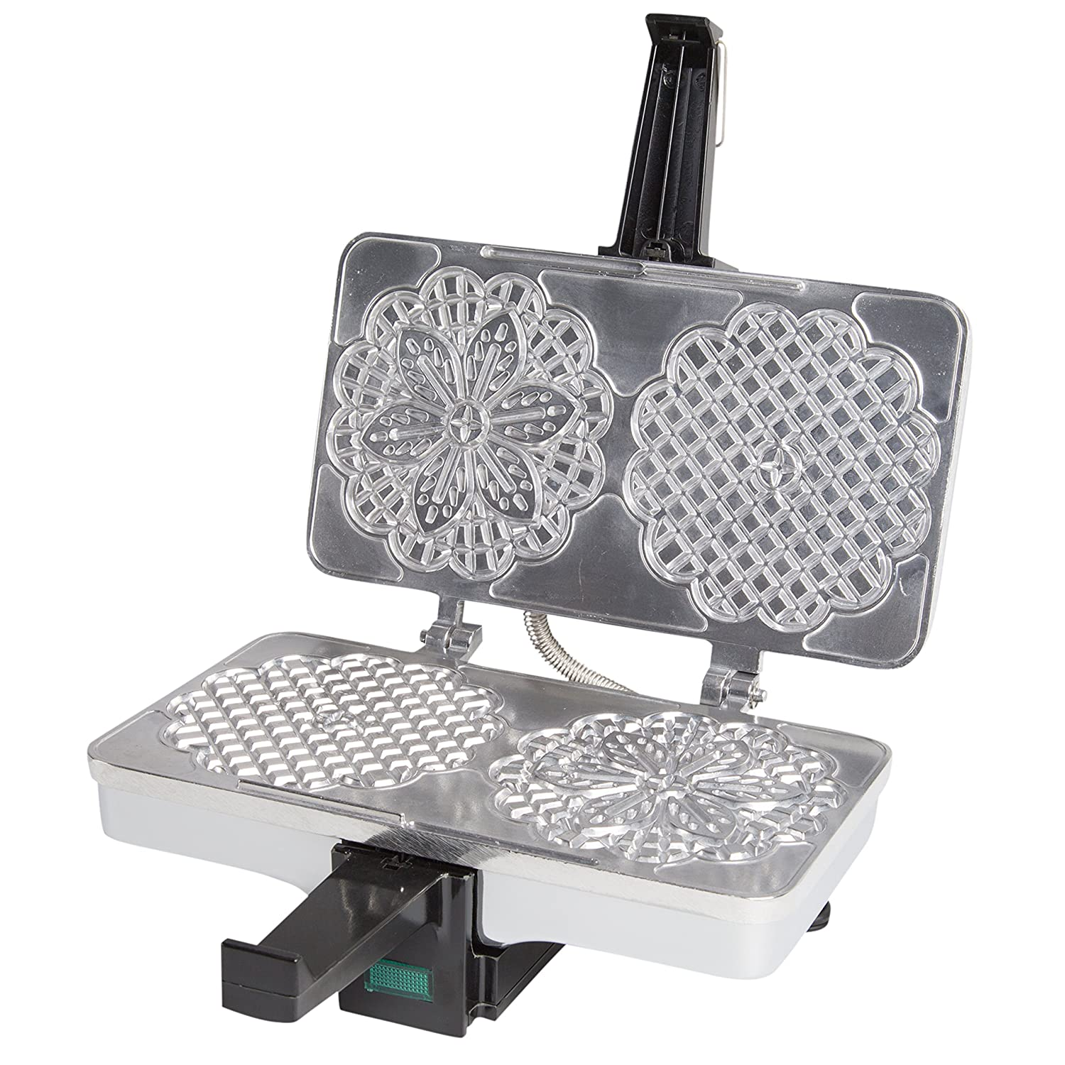 Amazon: Cucinapro Polished Pizzelle Maker 22005p  Makes Two 5