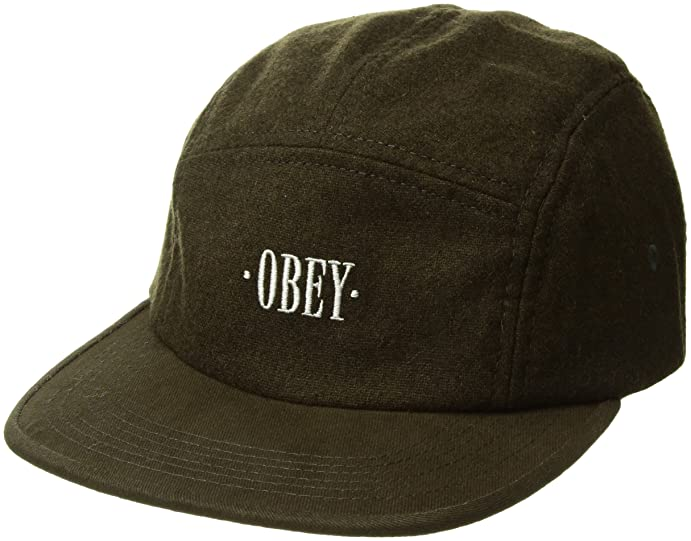 a5097c87cdd official store obey mens reprise 5 panel hat army aea05 29bfe