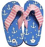 Hatley Lbh Kids Flip Flops-Girl Anchors Beach and Pool Shoes