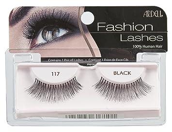 f47194ef131 Amazon.com : Ardell Fashion Lashes Pair - 117 (Pack of 4) : Fake Eyelashes  And Adhesives : Beauty